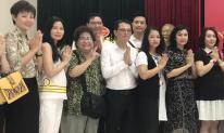 NSND Trung Hiếu, Minh Vượng và loạt sao miền Bắc tề tựu giỗ Tổ nghề sân khấu
