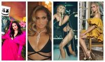 Jennifer Lopez cùng 3 ngôi sao lớn diện thiết kế xuyên thấu của NTK Công Trí