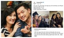Quang Minh vẫn gửi lời chúc mừng sinh nhật ngọt ngào đến Hồng Đào dù đã ly hôn
