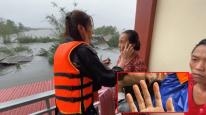 Đằng sau hình ảnh bàn tay Thuỷ Tiên nhăn nheo sau nhiều ngày lội nước lũ cứu trợ miền Trung