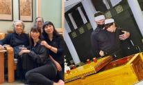 Hà Anh cùng gia đình cúng 49 ngày cho ông nội và những hình ảnh xúc động trong đám tang