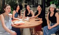 Đứng chung khung hình với hội bạn toàn mỹ nhân, Hà Tăng chiếm trọn spotlight