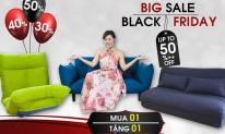 Bùng nổ siêu bão sale cùng Black Friday tại Thế giới sofa