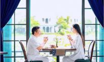 Bà xã Shark Hưng - Á hậu Thu Trang nói về thú vui tao nhã với chồng nhân kỷ niệm ngày quen nhau