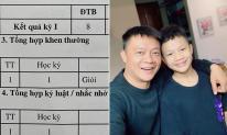 BTV Quang Minh bất ngờ lúc nhìn vào kết quả học tập của con khi bận bù đầu, không có thời gian kèm cặp