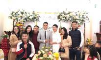 Lễ cưới của cầu thủ Phạm Xuân Mạnh tại quê vợ ở nhà