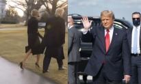 Vừa đặt chân xuống Florida, ông Trump bị phu nhân bỏ rơi ngay tại sân bay?