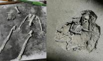 Mẹ nhờ trám nền nhà, nam thanh niên tự tạo ra bộ xương rồi ghép vào như thật