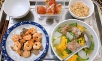 Thực đơn ở cữ, chồng nấu cho vợ ăn khiến dân tình ngưỡng mộ