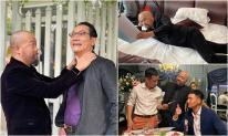 Hậu trường 'bom tấn' truyền hình Hồ sơ cá sấu: Những hình ảnh không lên sóng của Khánh Ma - Đức Hùng