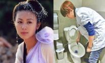 Hết thời, mỹ nhân 'Song Long Đại Đường' phải đi dọn toilet để kiếm tiền nuôi 2 con