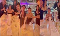 Tham gia thử thách kéo ly nước bằng giấy vệ sinh, chủ tịch Ngọc Trinh gây choáng với số tiền thưởng khủng