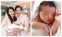 Đông Nhi lần đầu công bố loạt ảnh siêu cưng của con gái lúc 1 tuần tuổi