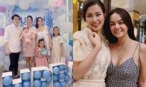 Đông Nhi - Ông Cao Thắng dự sinh nhật con gái Phạm Quỳnh Anh, nhan sắc của 2 bà mẹ đình đám gây chú ý