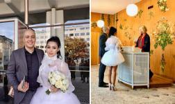 Maria Đinh Phương Ánh kết hôn với chồng Tây sau hơn 3 năm hẹn hò