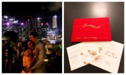 MC Hoàng Oanh bất ngờ phát thiệp thông báo tổ chức hôn lễ với bạn trai Tây vào ngày 1/12