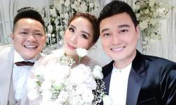 Sau đám cưới, Bảo Thy kể chuyện tân hôn hài hước: Vợ để nguyên trang điểm, chồng mặc vest đi ngủ