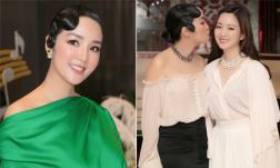 Sinh nhật mẹ, nhưng con gái Hoa hậu Giáng My lại chiếm trọn spotlight vì quá xinh