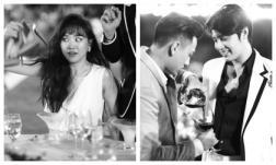 Hai tuần sau đám cưới, Đông Nhi tung loạt ảnh độc: Hari Won bị dìm tơi tả, Noo và Isaac tình thương mến thương