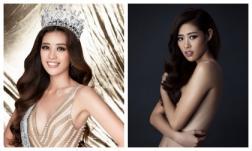 Loạt ảnh bán nude của Hoa hậu Hoàn vũ Việt Nam 2019 Khánh Vân bất ngờ gây bão trở lại