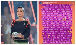 Vừa trao lại vương miện, Hoa hậu H'Hen Niê kể chuyện 'bị tước đặt ân': Về Sài Gòn một mình, tự đón taxi