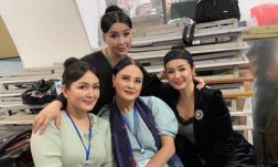 'Em bé Hà Nội' Lan Hương hội ngộ 'ba kiều nữ thế hệ kim cương' của điện ảnh Việt