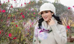 'Cầu được ước thấy', Hoa hậu Đền Hùng Giáng My chụp được bộ ảnh giữa mùa đông Hà Nội đúng nghĩa