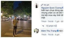 Cường Đô La đăng ảnh chân dài miên man khiến dân mạng hoang mang, phản ứng bà xã Đàm Thu Trang mới sốc