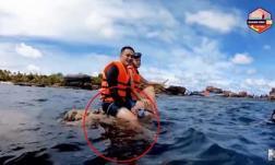 Quang Vinh và Phạm Quỳnh Anh bị chỉ trích vì phá hoại tài nguyên thiên nhiên biển