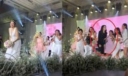 Clip 'bà bầu' Thuý Vân với màn tung hoa cưới gây sốt, Hương Giang chiếm spotlight với biểu cảm ê chề