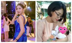 Hoa hậu Đại dương Đặng Thu Thảo phủ nhận chồng là đại gia, bức xúc khi bị nói xuề xoà sau sinh