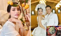 Sao Việt 23/9: Trúc Diễm kể về quá khứ vất vả của bố mẹ; Trịnh Kim Chi được tặng bó hoa tiền trong tiệc kỉ niệm 20 năm ngày cưới