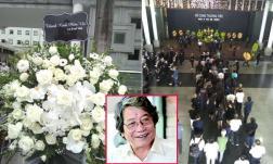 Cập nhật đám tang nhạc sĩ Phó Đức Phương: Rất đông bạn bè, đồng nghiệp xếp hàng vào viếng