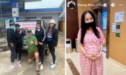 Sao Việt 23/10: Vợ chồng Trường Giang cùng các nghệ sĩ lên đường đi từ thiện ở miền Trung; Lộ vóc dáng sau sinh của vợ nhạc sĩ Dương Khắc Linh