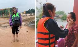 Bị so sánh với Thủy Tiên khi đi làm từ thiện ở miền Trung, Thúy Diễm lên tiếng