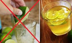 Những sai lầm nhiều người mắc khi uống nước chanh! Bảo sao mất hết vitamin C và bào mòn dạ dày