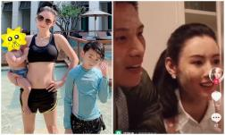 Cha ruột con trai thứ 3 của Trương Bá Chi chính thức lộ diện, kém nữ diễn viên 8 tuổi?
