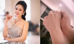 MC Thùy Linh khoe nhẫn cầu hôn, tiết lộ sẽ làm đám cưới trước Tết với bạn trai kém 5 tuổi