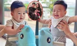 Hiếm hoi khoe ảnh con trai cưng, Đặng Thu Thảo thốt lên: 'Giờ mình phải rụng tim với anh trai này'