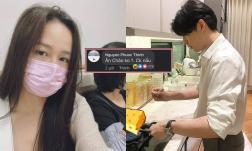 Mai Phương Thúy vừa bị bệnh, Noo Phước Thịnh đã nhắn ngọt ngào: 'Ăn cháo không, chồng nấu'