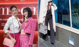 Sao Việt 19/1/2021: Trang Trần phanh cúc áo lộ gần hết vòng một; Mai Ngọc dùng app kéo chân khiến người mất cân đối?