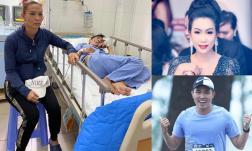 MC Phạm Anh và 'bà bầu' Kim Chi đứng ra kêu gọi hỗ trợ viện phí và ổn định cuộc sống cho nam tài tử Thương Tín