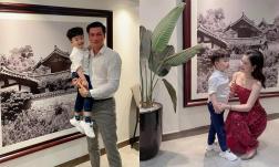 Việt Anh cùng vợ cũ tổ chức sinh nhật cho con trai