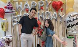 Diễn viên Hồng Đăng mừng sinh nhật con gái, bé Nhím gây chú ý vì cao lớn phổng phao