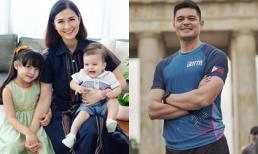 Ảnh 3 mẹ con 'mỹ nhân đẹp nhất Philippines' gây chú ý trên mạng chỉ nhờ 1 chi tiết dù vắng mặt chồng