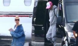 Justin Bieber và Hailey Baldwin đi phi cơ riêng đến Nam Carolina để chuẩn bị cho đám cưới