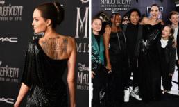 Đẳng cấp siêu sao là đây: Angelina Jolie lộng lẫy như bà hoàng trong ngày ra mắt 'Tiên hắc ám 2'