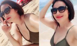 'Bà mối' Cát Tường diện áo tắm khoe vòng một nóng bỏng trong chuyến du lịch Bali