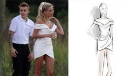 Đẳng cấp lễ phục Hailey Bieber diện trước đám cưới: Váy được thiết kế riêng, vòng kim cương 20 carat đắt đỏ