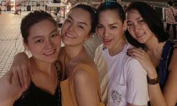 'Trốn 2 con gái', Phạm Quỳnh Anh hẹn hò bà xã Lam Trường trên đất Mỹ